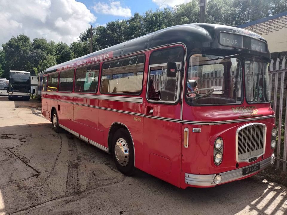 1968 Bristol RELH4/205 with ECW Series 2 Body For Sale (picture 1 of 6)