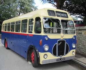 Fully restored and reliable Bristol SC bus