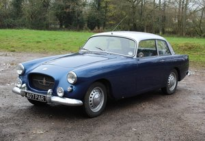 Picture of 1963 Bristol 407 in blue with silver roof For Sale