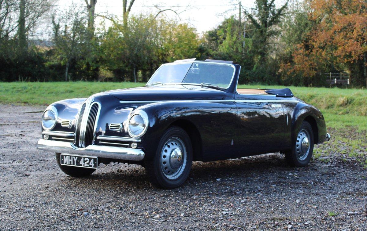1950 Bristol 401 Farina Convertible For Sale (picture 1 of 8)