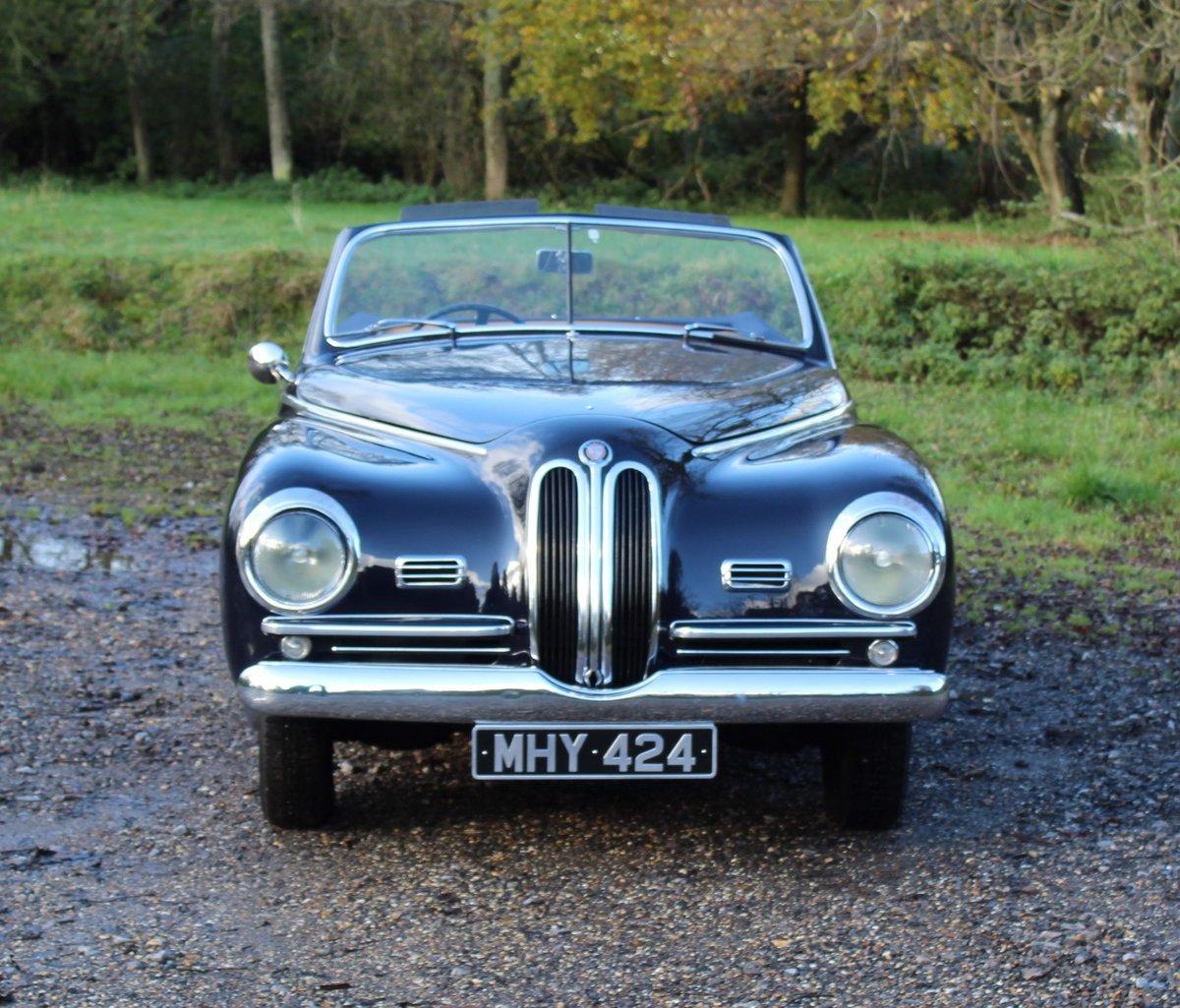 1950 Bristol 401 Farina Convertible For Sale (picture 2 of 8)