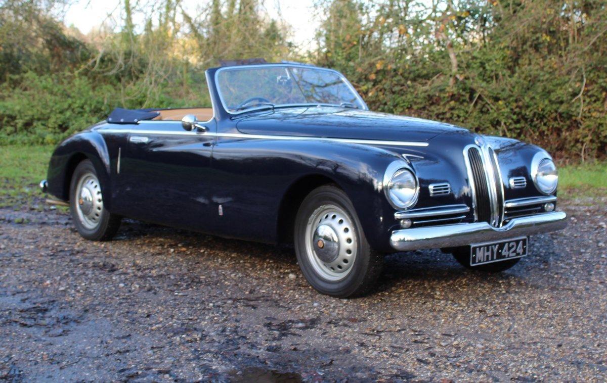1950 Bristol 401 Farina Convertible For Sale (picture 3 of 8)