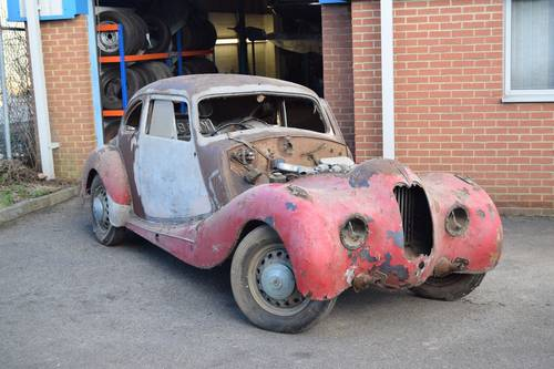 1948, 1950 Bristol 400 Barn Finds/Projects SOLD (picture 1 of 2)