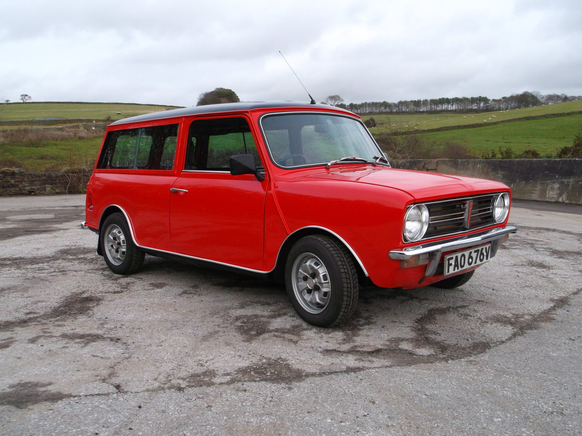 1979 Fully rebuilt mini clubman estate For Sale (picture 1 of 6)