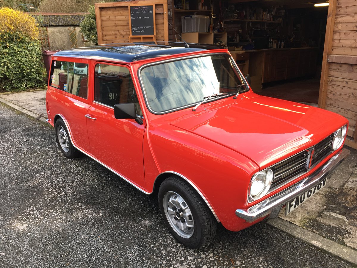 1979 Fully rebuilt mini clubman estate For Sale (picture 3 of 6)