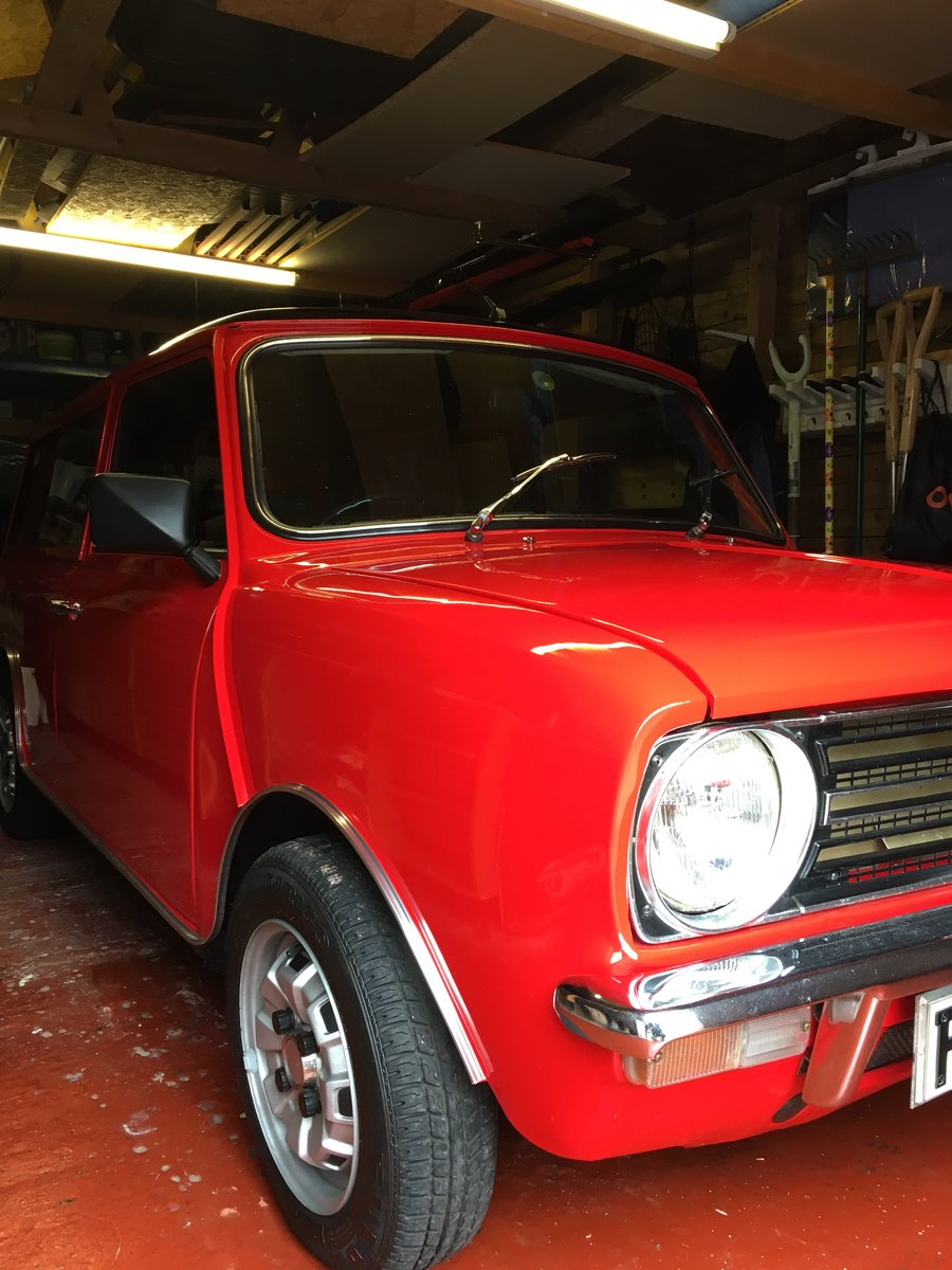 1979 Fully rebuilt mini clubman estate For Sale (picture 6 of 6)