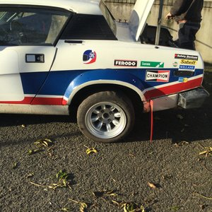 Tr7 v8 rally car