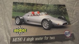0000 BROOKE ME190 SALES BROCHURE ORIGINAL