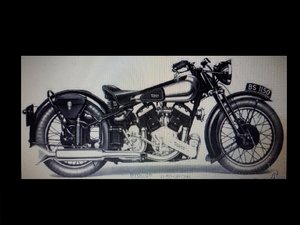 1936 Brough Superior 11-50 - For Sale