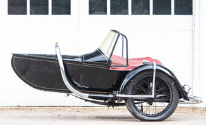 Picture of 1937 Brough Superior Petrol-tube Chassis and Cruiser Sidecar For Sale by Auction