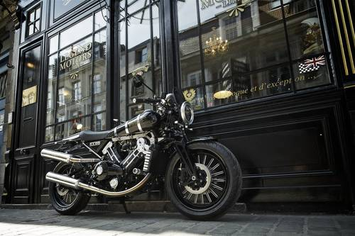 2017 BROUGH SUPERIOR SS100 FULL BLACK For Sale (picture 1 of 6)