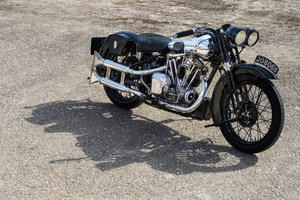 1933 Brough Superior 680 OHV - Matching Numbers