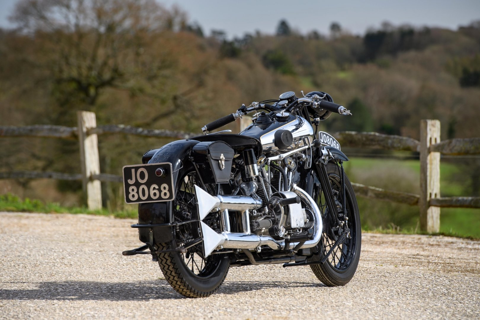 1933 Brough Superior 680 OHV - Matching Numbers For Sale (picture 2 of 6)