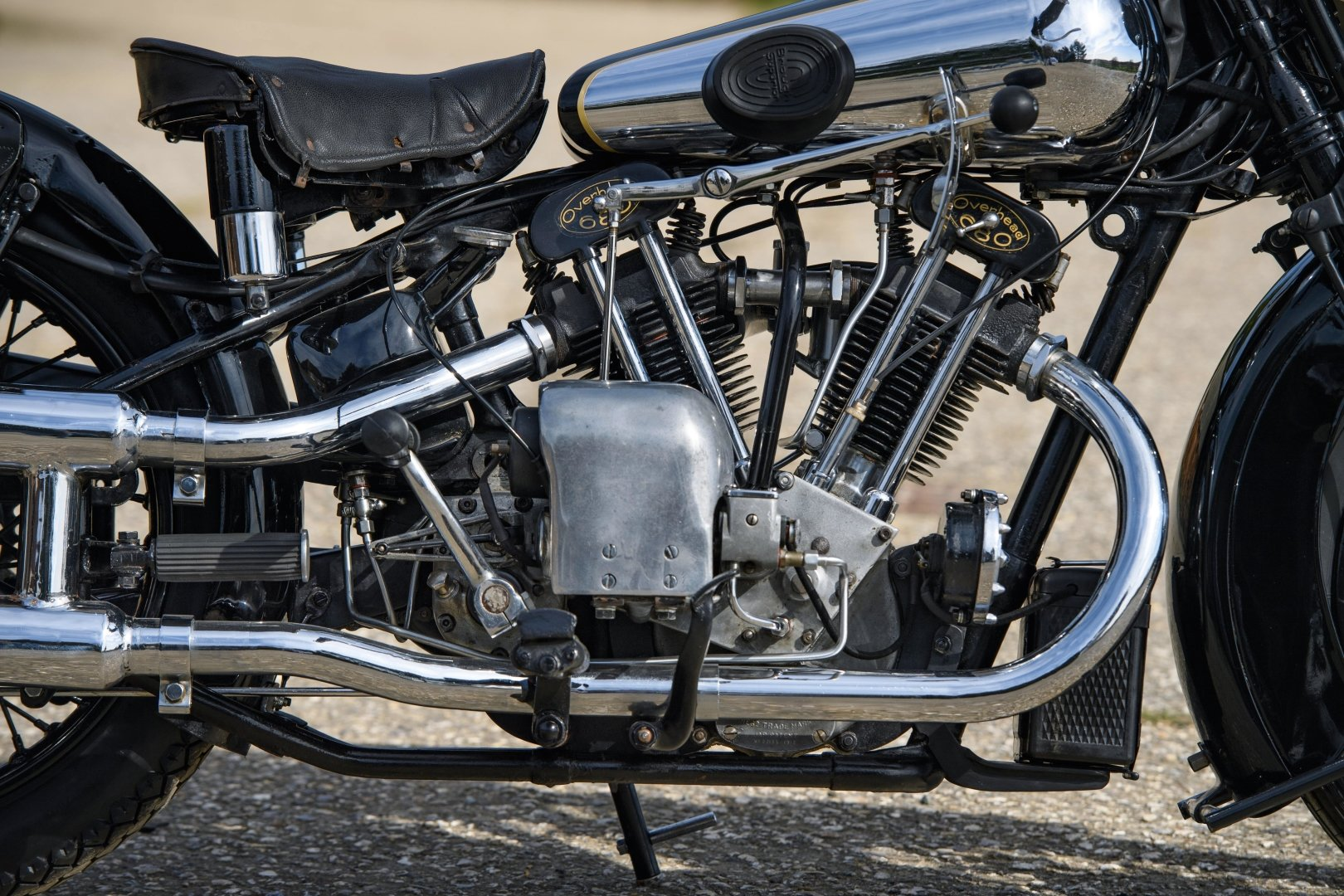 1933 Brough Superior 680 OHV - Matching Numbers For Sale (picture 3 of 6)