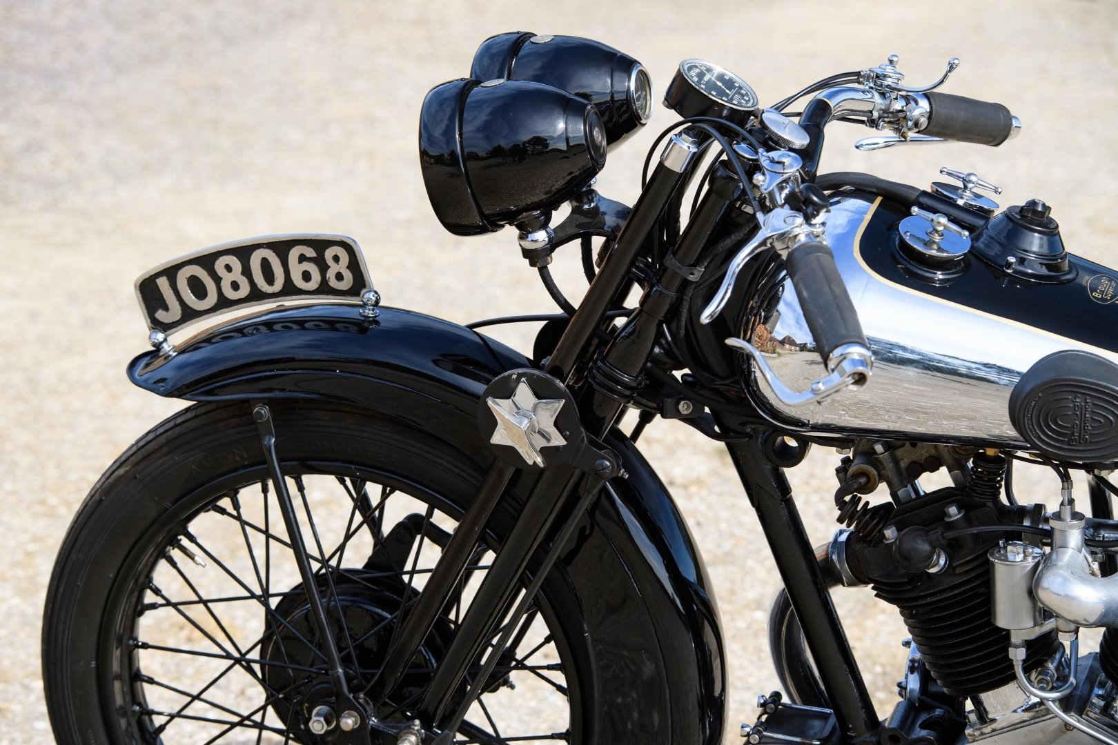 1933 Brough Superior 680 OHV - Matching Numbers For Sale (picture 5 of 6)