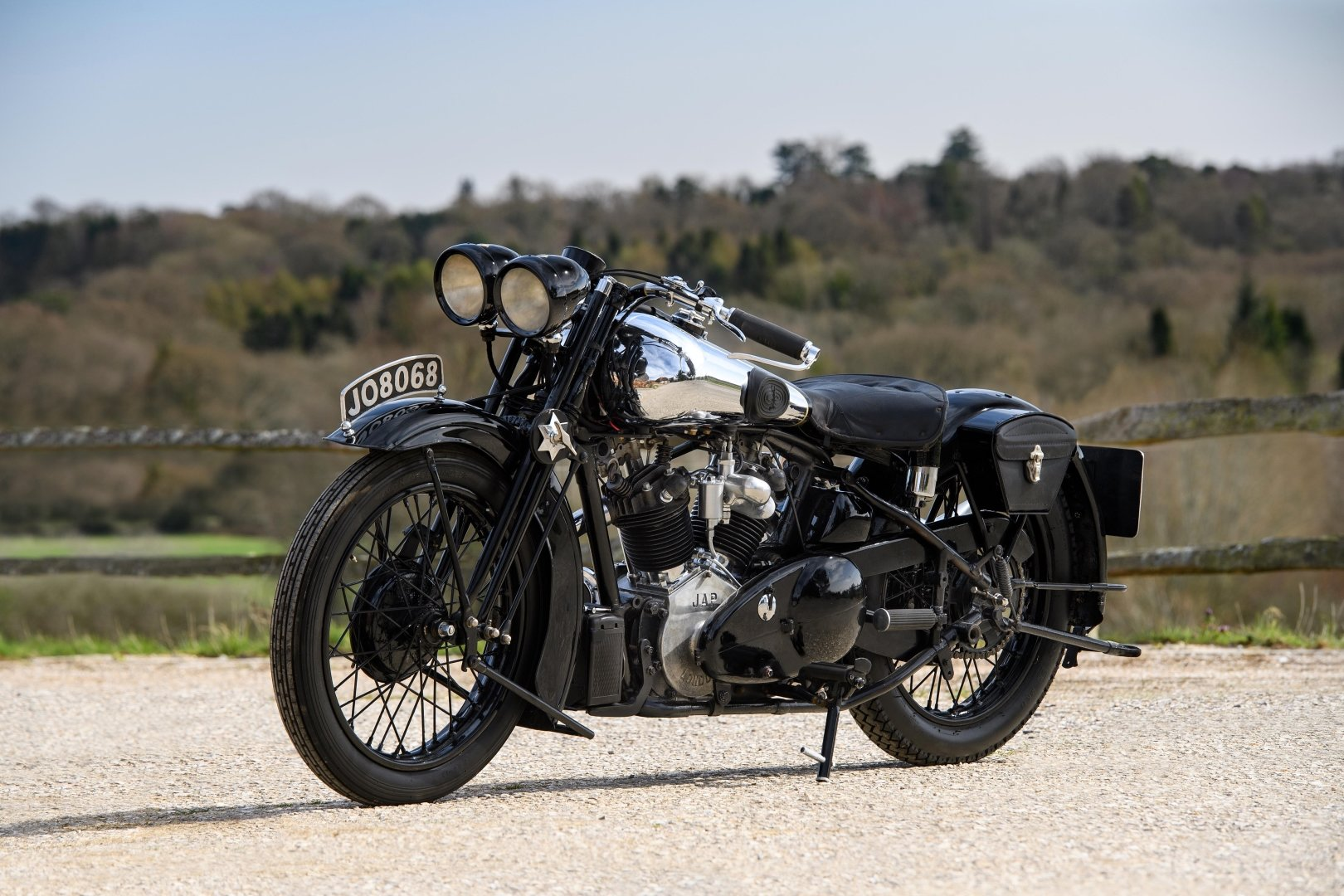 1933 Brough Superior 680 OHV - Matching Numbers For Sale (picture 6 of 6)