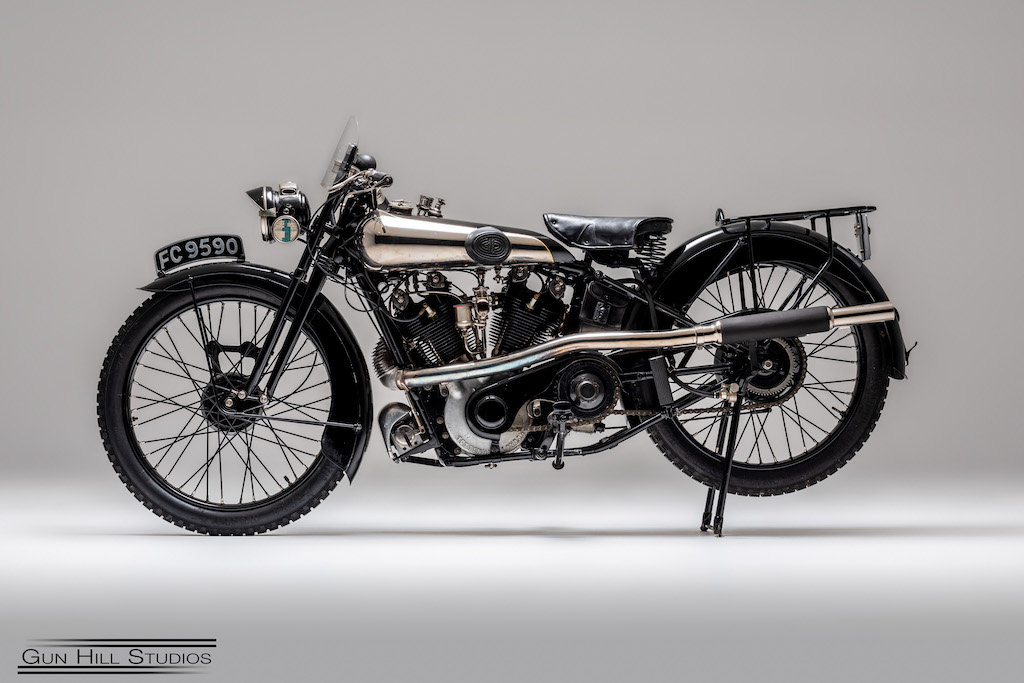 1925 Brough Superior SS100 For Sale (picture 6 of 6)