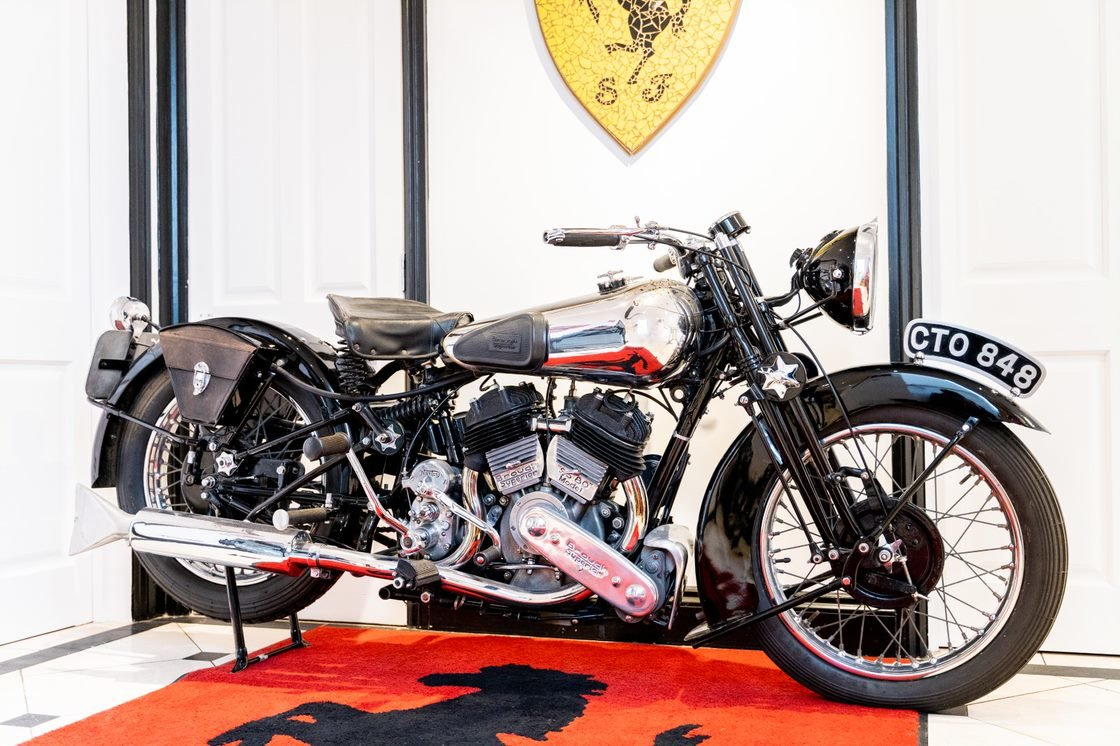 Picture of 1936 Brough Superior SS80 For Sale