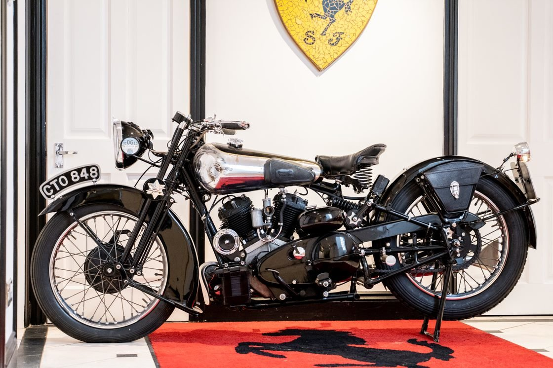 1936 Brough Superior SS80 For Sale (picture 5 of 6)