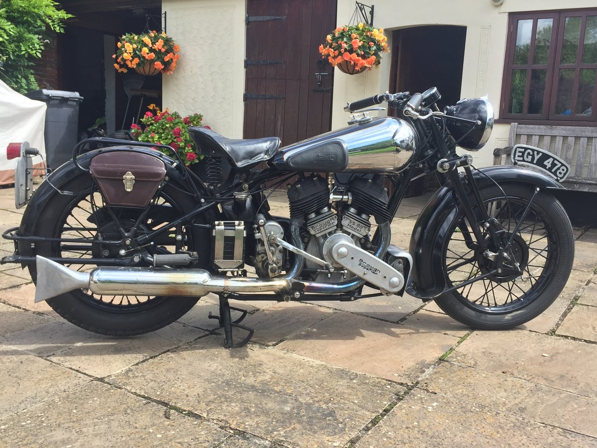 1937 Brough Superior SS80 SOLD (picture 1 of 6)