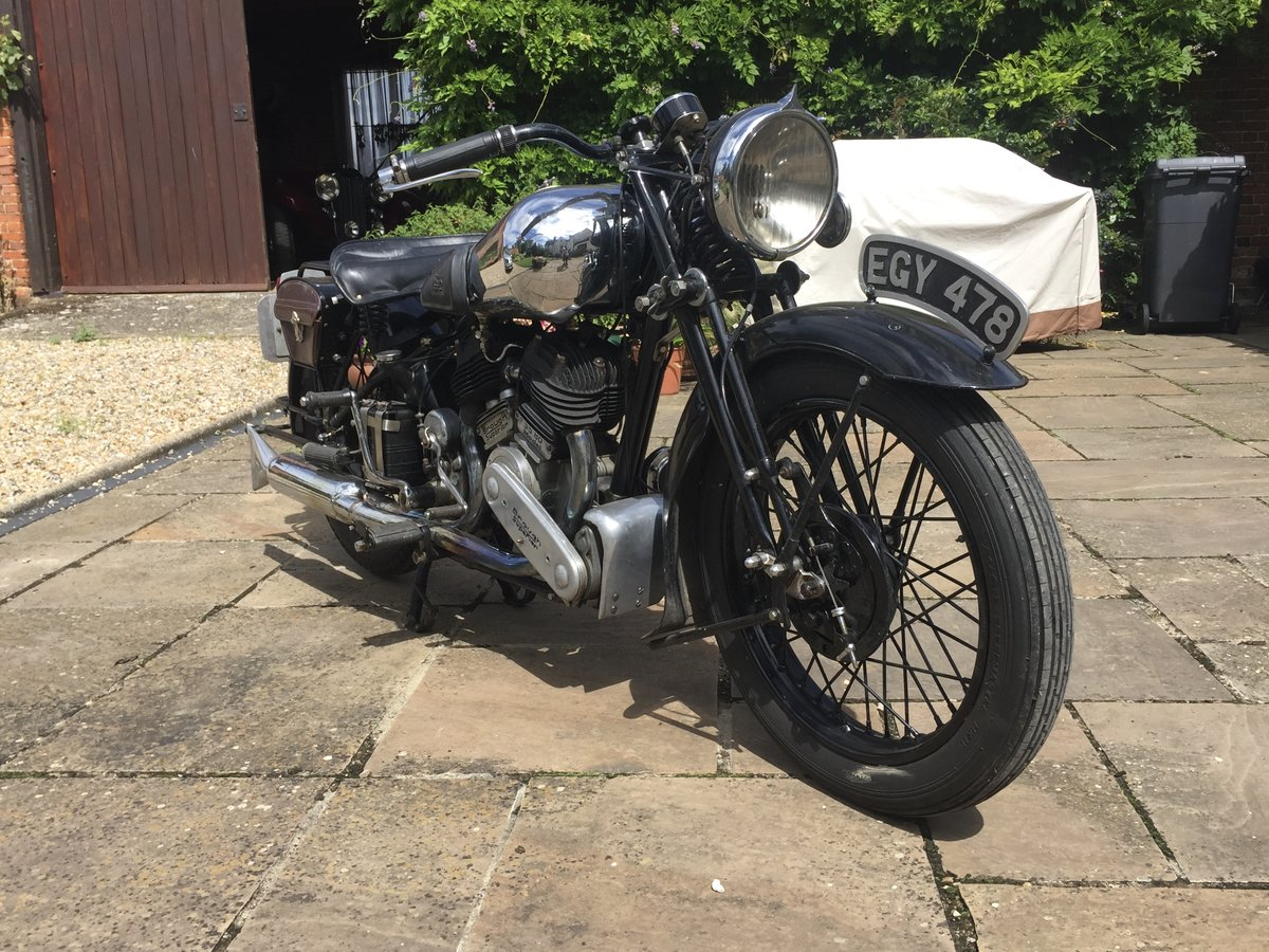 1937 Brough Superior SS80 SOLD (picture 4 of 6)