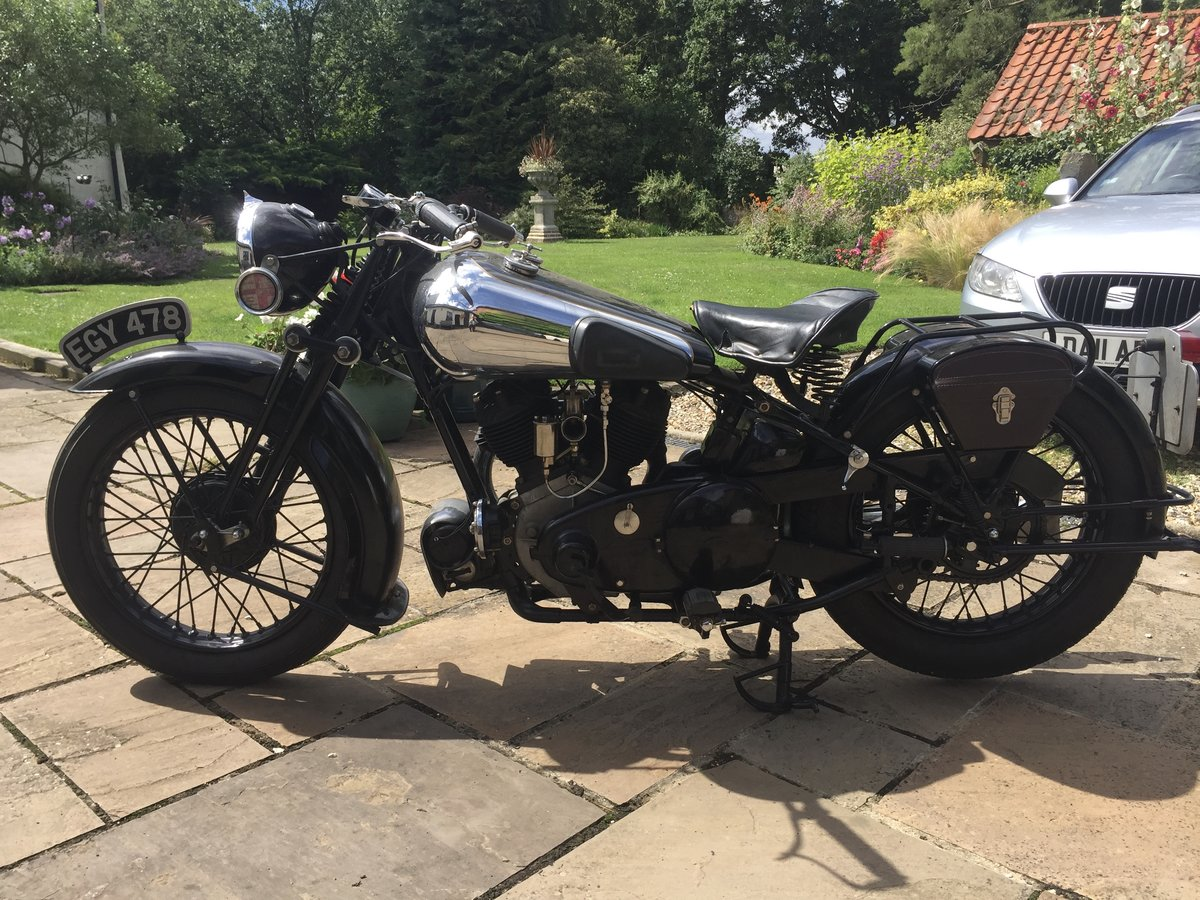 1937 Brough Superior SS80 SOLD (picture 5 of 6)