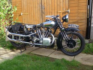 1932 Brough Superior 680 OHV 680cc