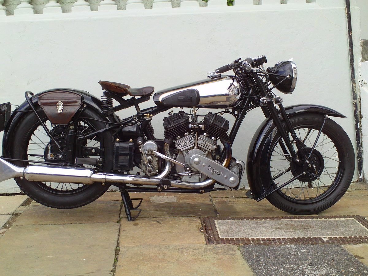 1938 BROUGH SUPERIOR SS80 DE LUXE  For Sale (picture 1 of 6)