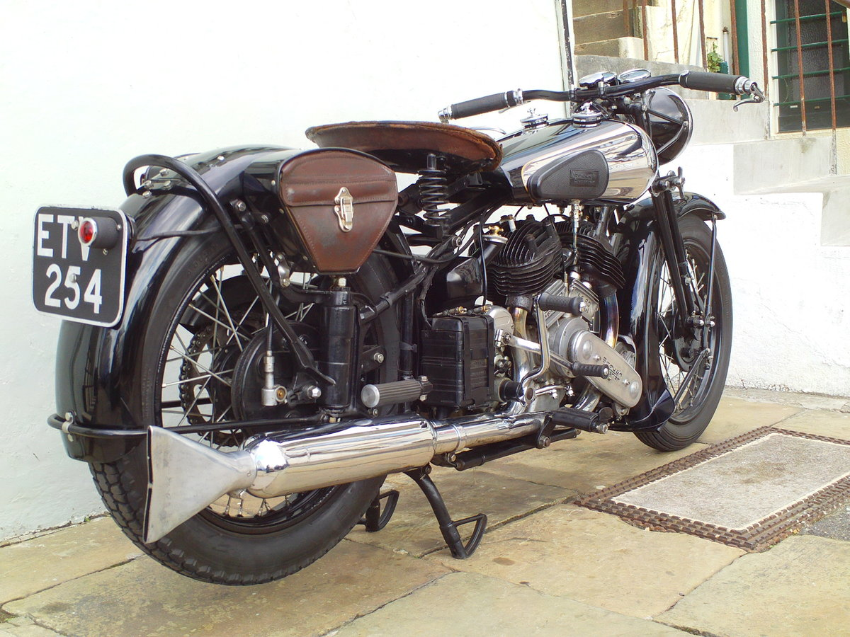 1938 BROUGH SUPERIOR SS80 DE LUXE  For Sale (picture 2 of 6)