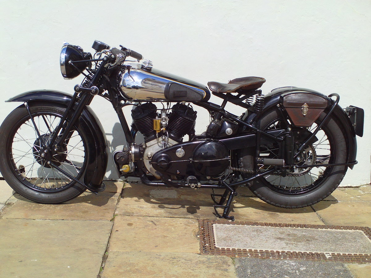 1938 BROUGH SUPERIOR SS80 DE LUXE  For Sale (picture 3 of 6)