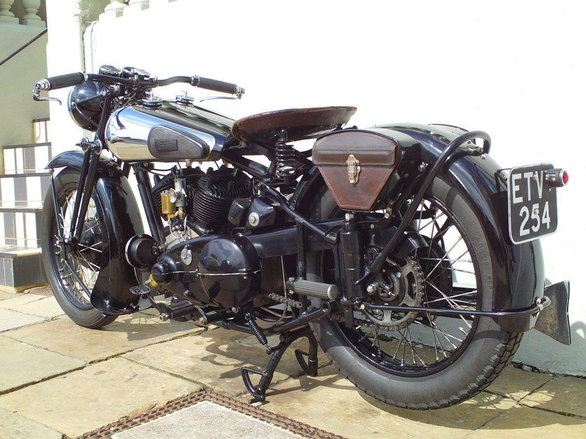 1938 BROUGH SUPERIOR SS80 DE LUXE  For Sale (picture 4 of 6)