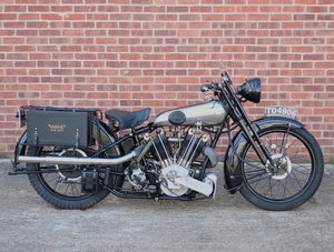 1948 Brough Superior SS100 Replica
