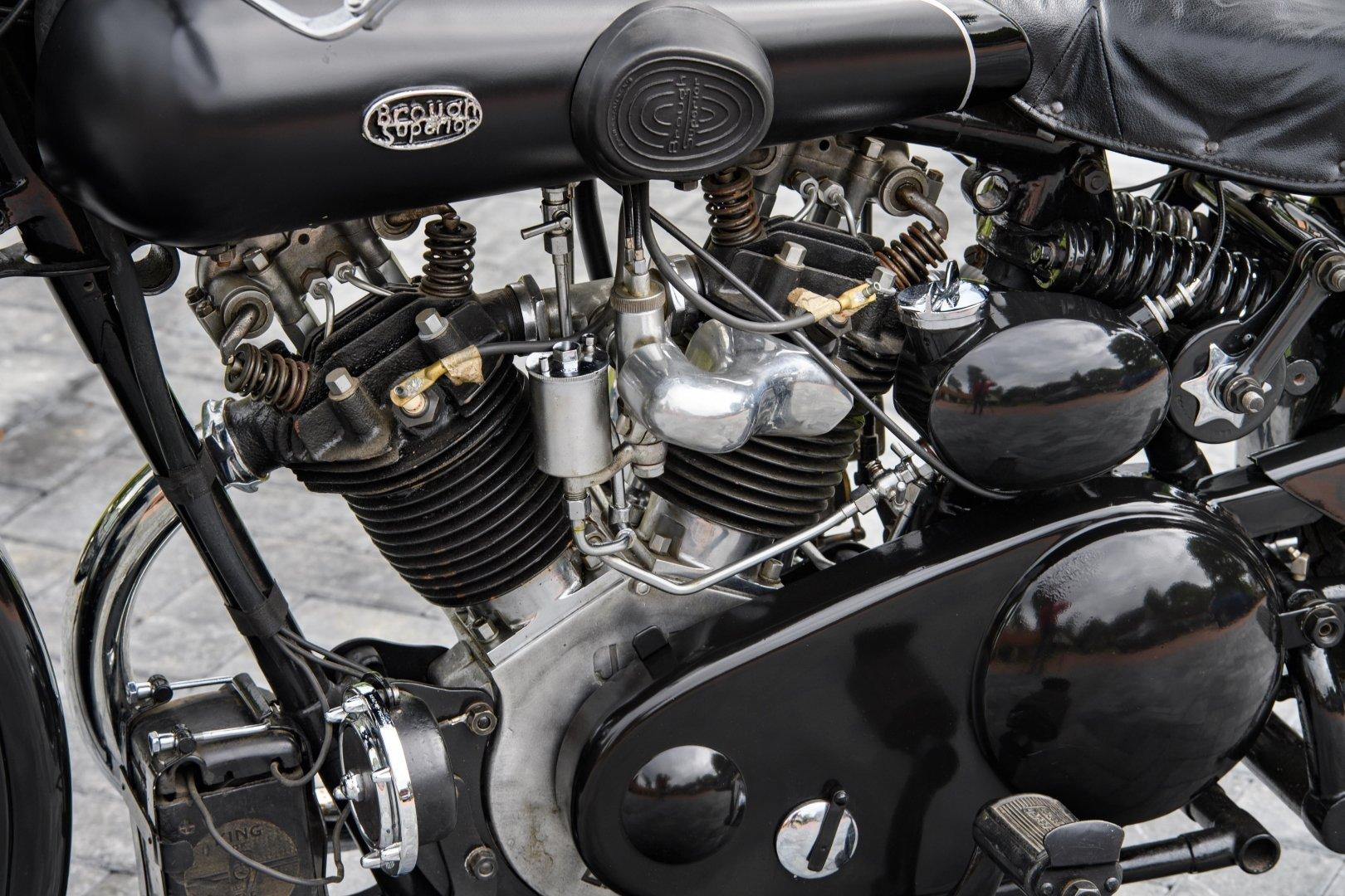 1933 Brough Superior 680 OHV 'Black Alpine' For Sale (picture 4 of 12)
