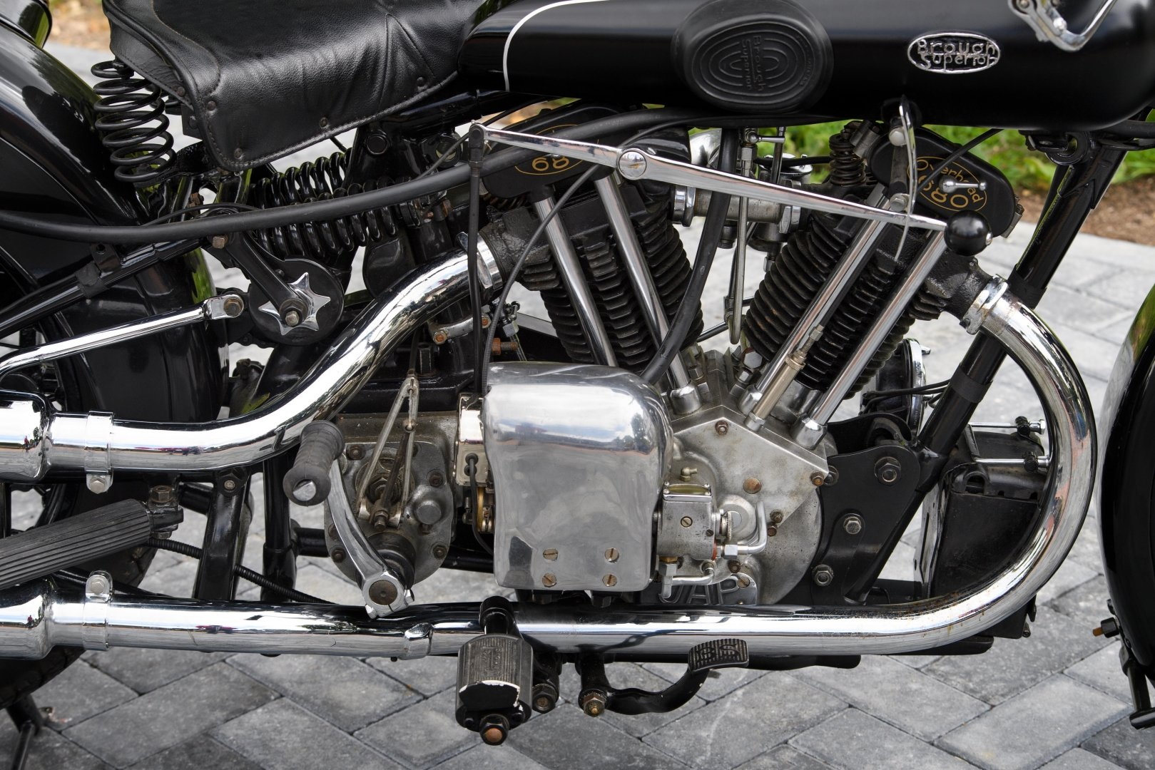 1933 Brough Superior 680 OHV 'Black Alpine' For Sale (picture 6 of 12)