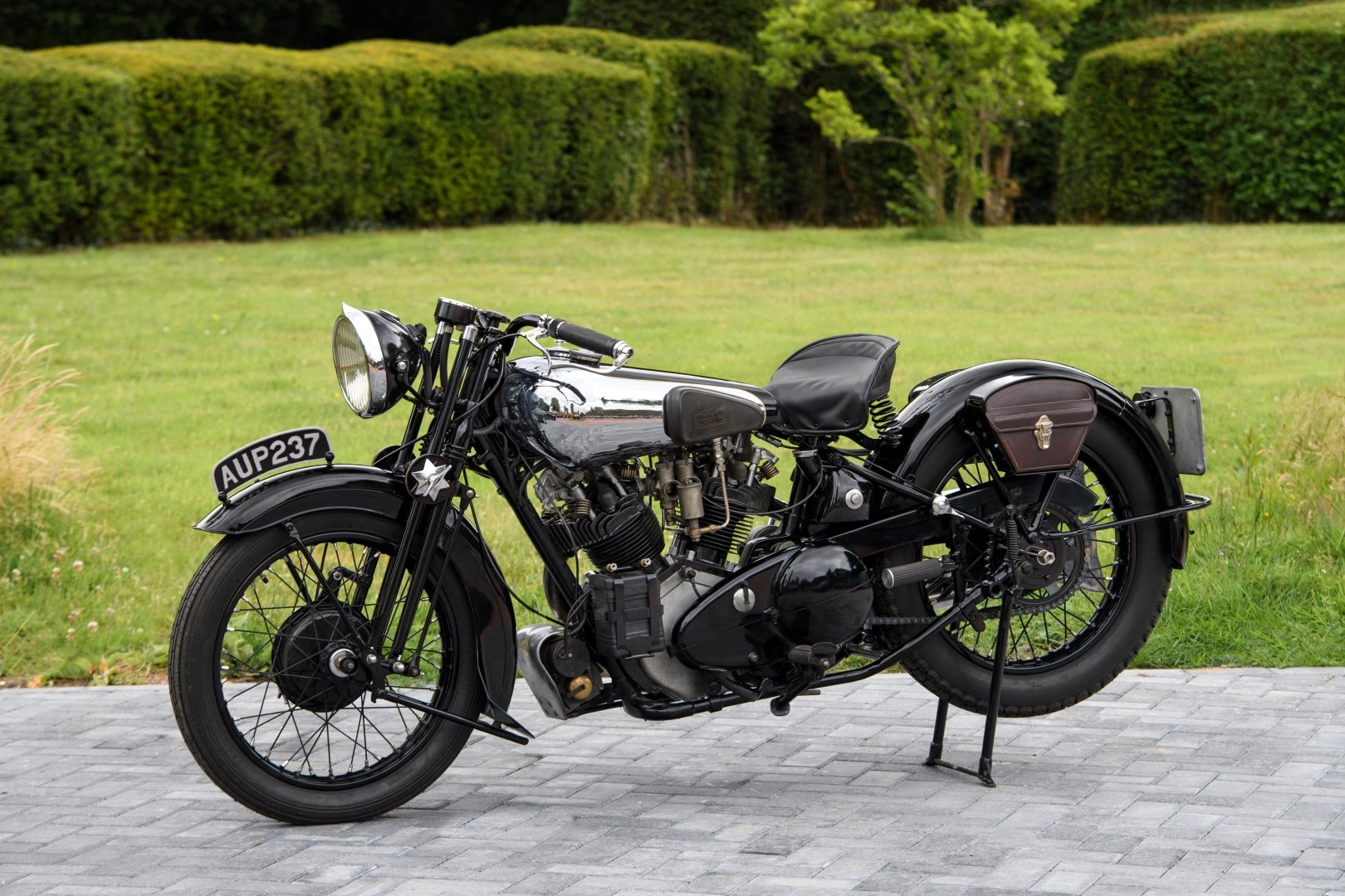 1936 Brough Superior SS100 - The Third 'MX100' Constructed For Sale (picture 4 of 12)