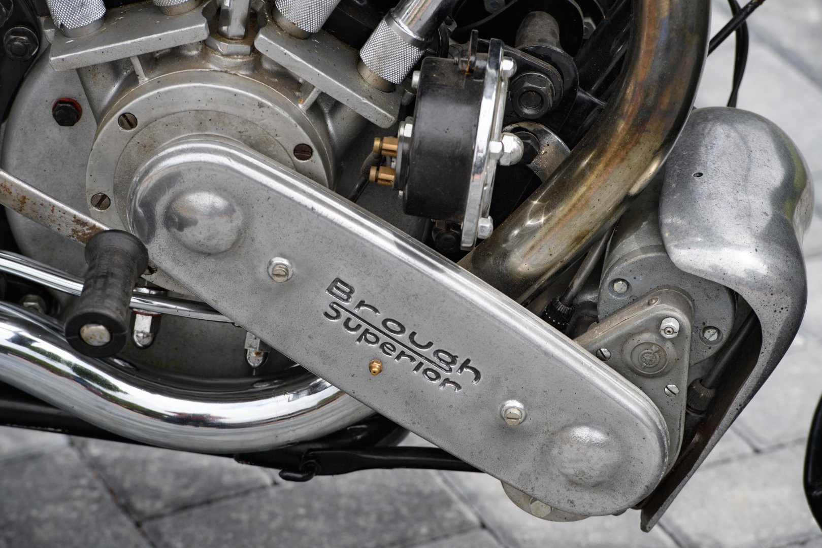 1936 Brough Superior SS100 - The Third 'MX100' Constructed For Sale (picture 8 of 12)