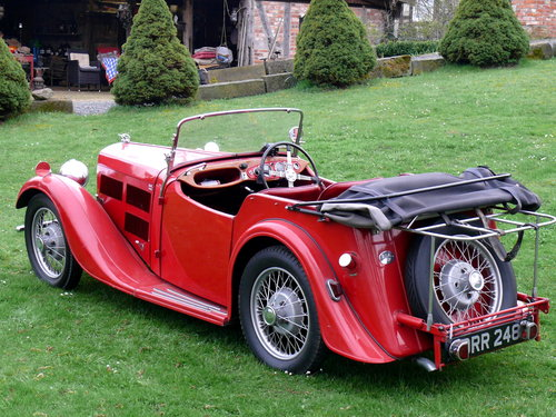 1937 BSA Scout 4 Seater Tourer For Sale (picture 2 of 6)