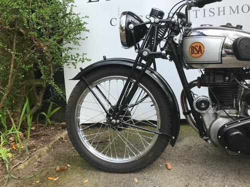1939 BSA Silverstar 350  For Sale (picture 5 of 6)