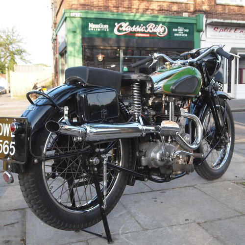 1936 Rare Q21 500cc Blue Star, SOLD TO BEN. SOLD (picture 6 of 6)