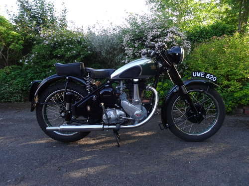 1949 Rare BSA ZB 31 For Sale (picture 2 of 5)