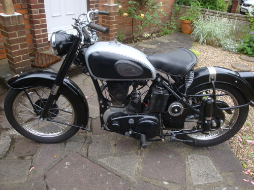 1952 BSA M33  Plunger   600cc sidevalve engine fitted For Sale (picture 1 of 6)