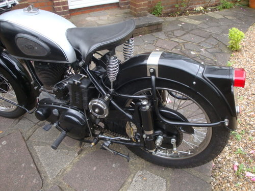 1952 BSA M33  Plunger   600cc sidevalve engine fitted For Sale (picture 2 of 6)