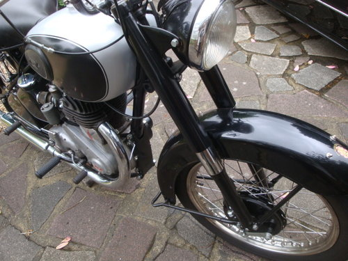 1952 BSA M33  Plunger   600cc sidevalve engine fitted For Sale (picture 3 of 6)