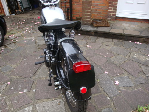 1952 BSA M33  Plunger   600cc sidevalve engine fitted For Sale (picture 6 of 6)