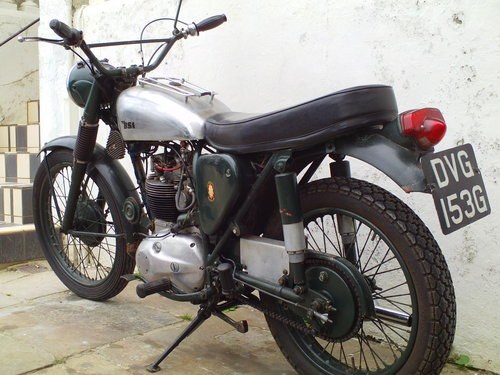 1967 BSA B40 WD SOLD (picture 4 of 6)