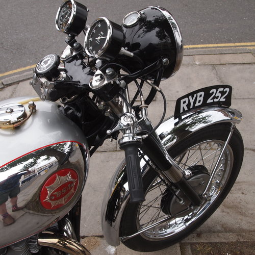 1954 BSA A10R 650cc Goldstar Rep: RESERVED FOR PAUL.. SOLD (picture 1 of 6)