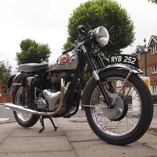 1954 BSA A10R 650cc Goldstar Rep: RESERVED FOR PAUL.. SOLD (picture 2 of 6)