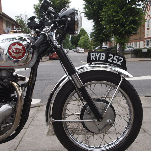 1954 BSA A10R 650cc Goldstar Rep: RESERVED FOR PAUL.. SOLD (picture 5 of 6)