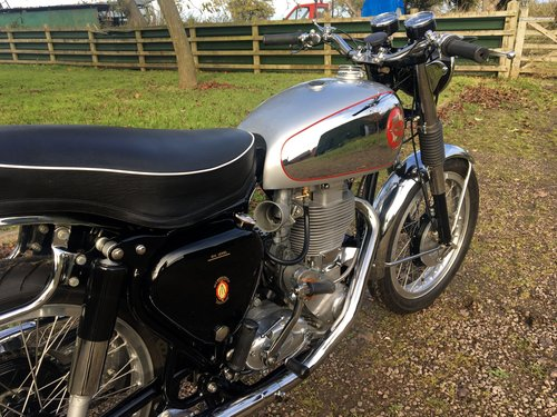 BSA DBD34 Touring Gold Star Rep 500cc 1956 SOLD (picture 5 of 6)