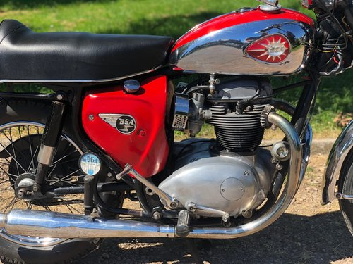 BSA Lightning A65LA 1967 650cc. Rare Very Pretty SOLD (picture 3 of 6)